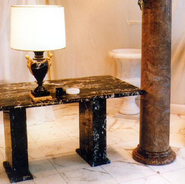 Esstisch couchtisch oder konsole aus marmor sandstein for Esstisch aus marmor
