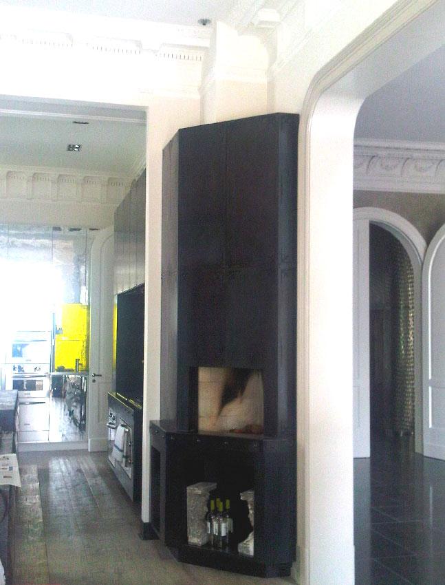 individuelle gestaltung von kaminen mit kamineinsatz kaminofen oder wasserf hrende kamine. Black Bedroom Furniture Sets. Home Design Ideas